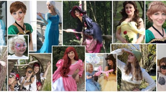Mottoparty mit Live- Besuch: Prinzessin, Hexe, Pirat