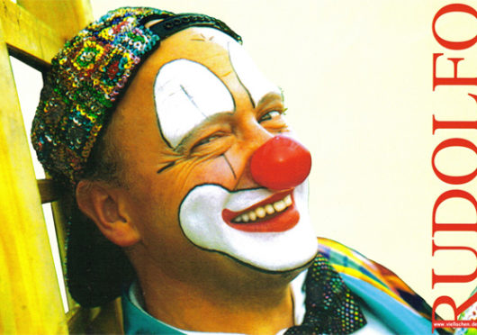 Einmal mit dem Zirkus um die Welt