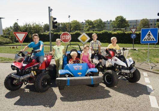 Geburtstagsfeier mit Quad-fahren