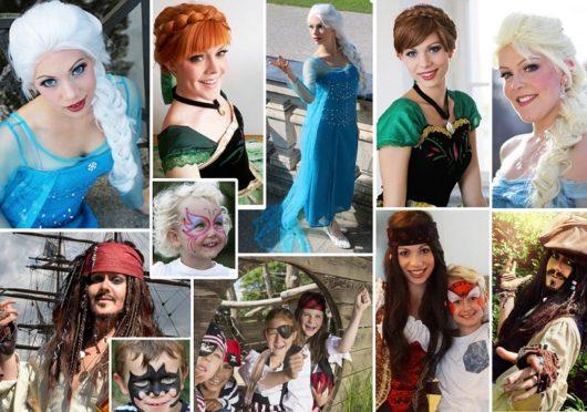 Prinzessinnen- & Piratenpartys mit Live-Besuch
