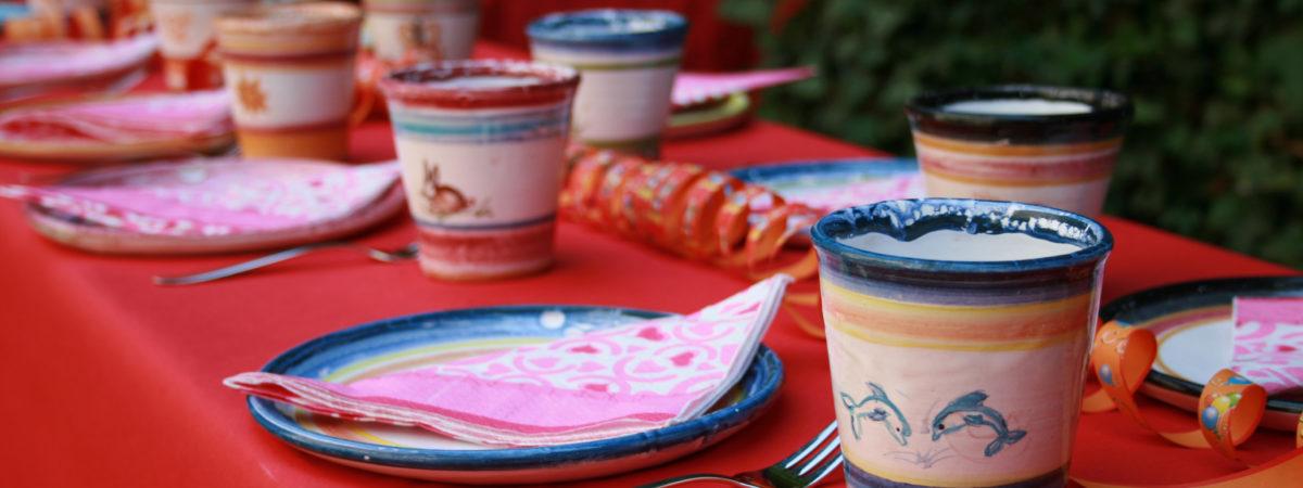 Spielen mit Ton - Keramikmalen