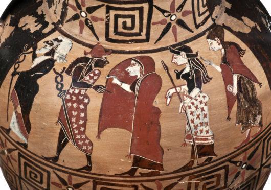 Zu Gast bei einem etruskischen Gelage