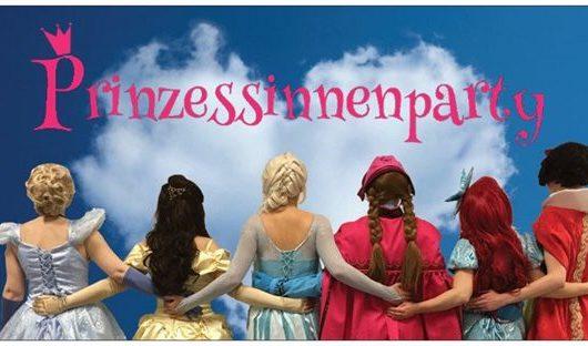 Prinzessinnenparty - märchenhafte Unterhaltung für Deine Kinderparty