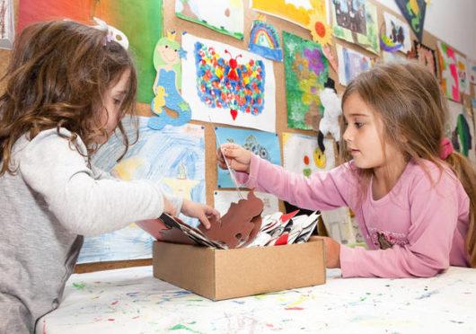 Kindergeburtstagsräume und Bastelkiste