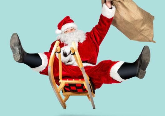 """HO, HO, HO, wir sind die fröhlichen """"Münchner Weihnachtsmänner"""""""