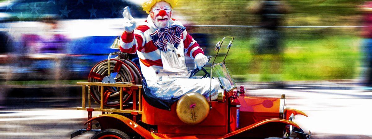 Geniale Clown-Show für große und kleine Zuschauer